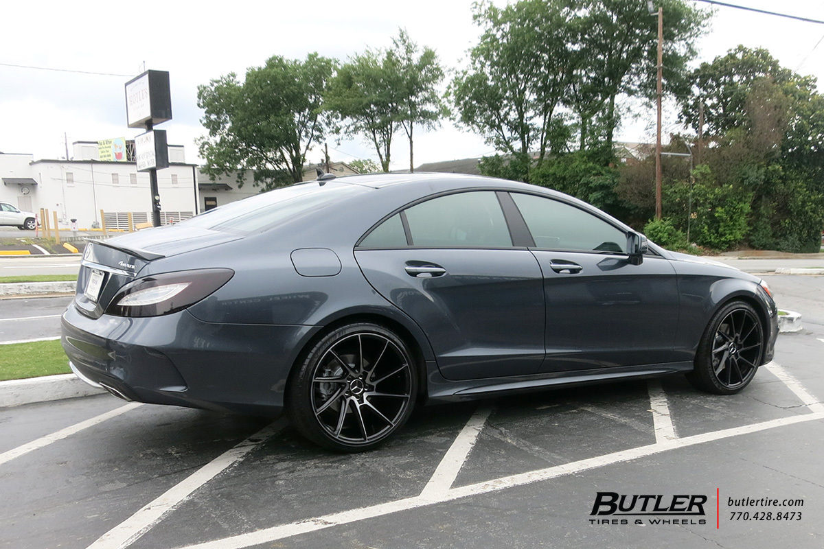 Mercedes CLS with 20in Savini BM15 Wheels