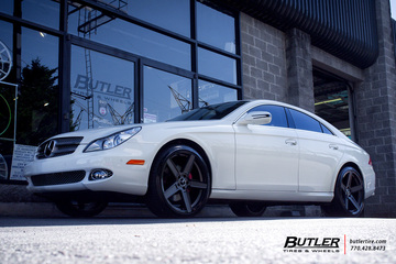 Mercedes CLS with 20in TSW Ascent Wheels