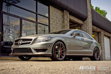Mercedes CLS with 20in TSW Bathurst Wheels