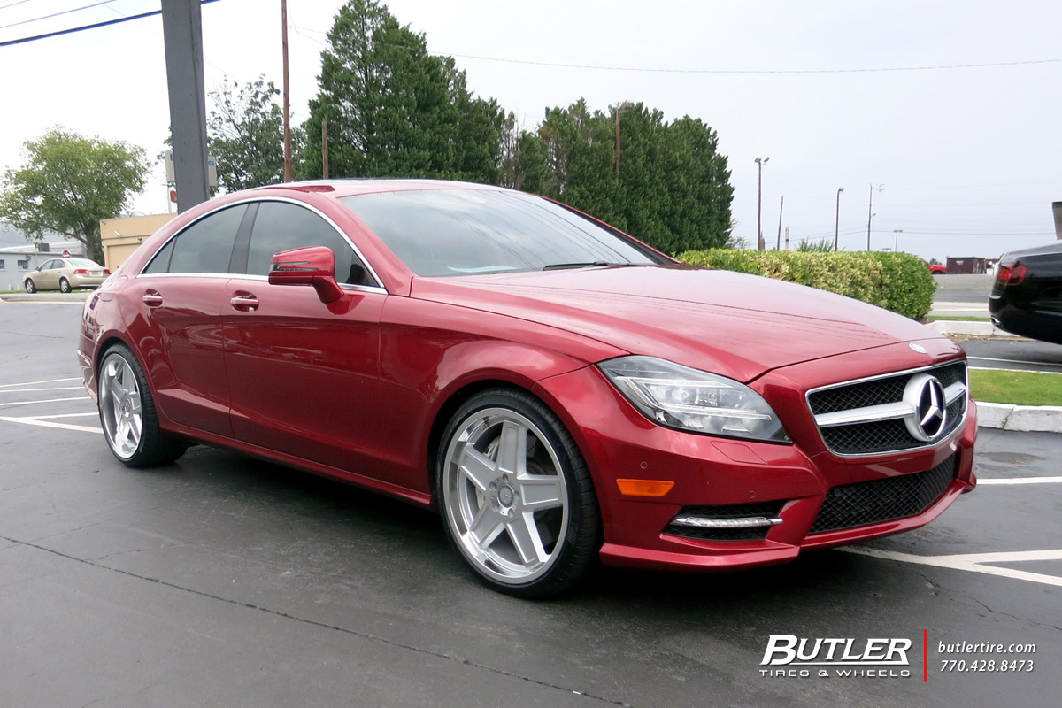 Mercedes CLS With 20in TSW Camber Wheels