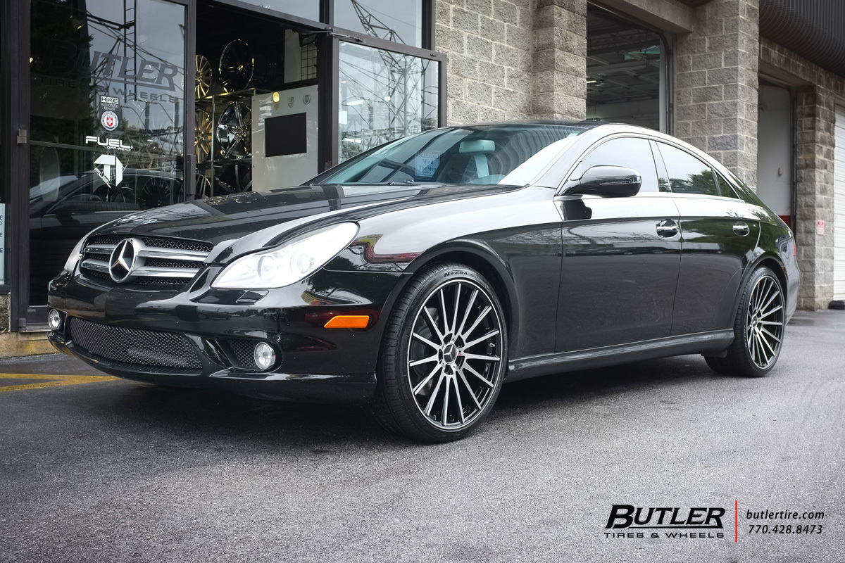Mercedes Benz Of Buckhead >> Mercedes CLS with 20in TSW Chicane Wheels exclusively from ...