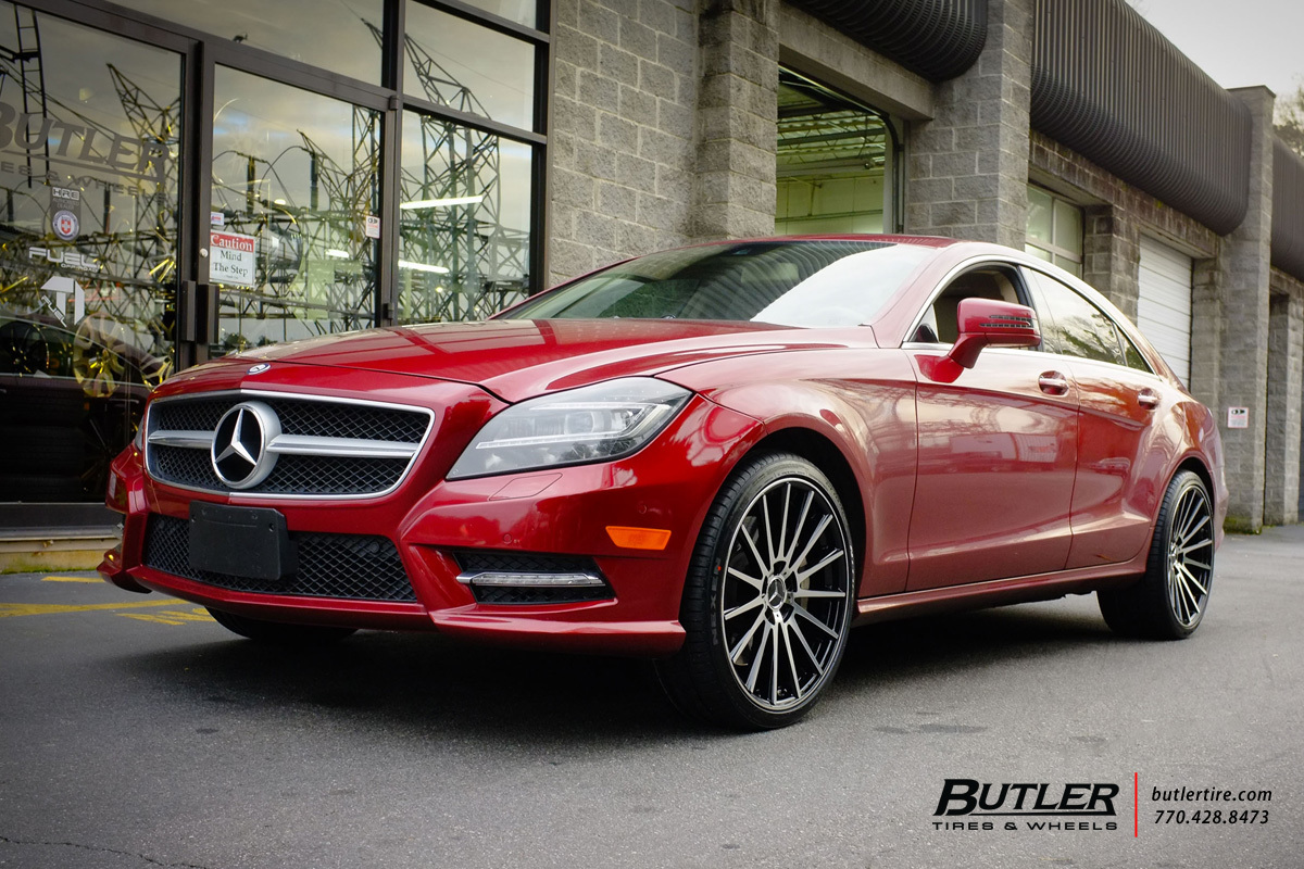 Mercedes CLS with 20in TSW Chicane Wheels