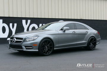 Mercedes CLS with 20in TSW Clypse Wheels