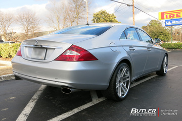 Mercedes CLS with 20in TSW Rouen Wheels