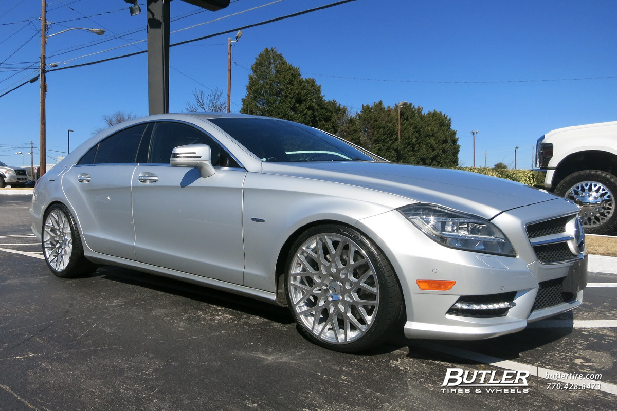 Mercedes Cls With In Tsw Vale Wheels Extra Large