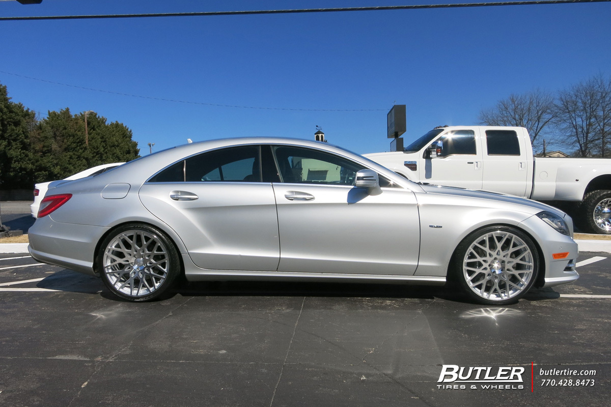 Mercedes Cls With 20in Tsw Vale Wheels Exclusively From