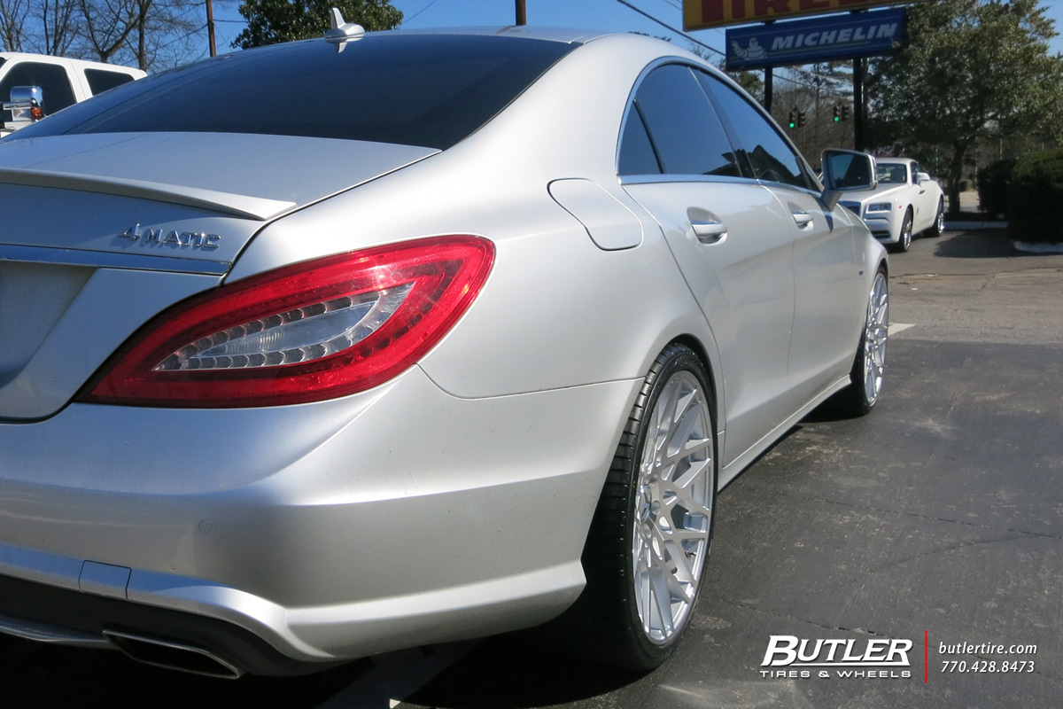 Mercedes CLS with 20in TSW Vale Wheels