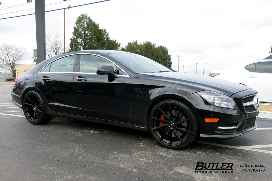 Audi Of Atlanta >> Mercedes CLS with 20in TSW Watkins Wheels exclusively from Butler Tires and Wheels in Atlanta ...