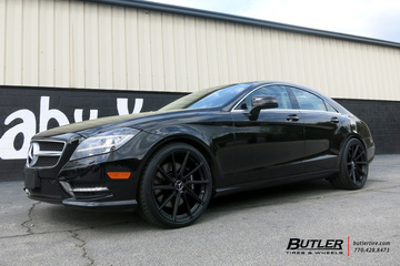 Mercedes CLS with 20in TSW Watkins Wheels
