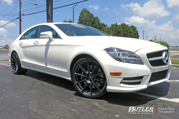 Mercedes CLS with 20in Vorsteiner V-FF 102 Wheels