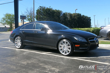 Mercedes CLS with 20in Vossen CV10 Wheels