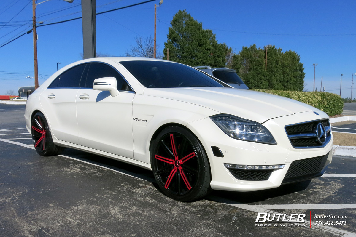 Mercedes Cls With 20in Vossen Cv4 Wheels Exclusively From Butler Toyota Blade Wiring Diagram