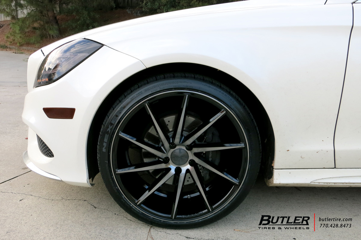 Mercedes CLS with 20in Vossen CVT Wheels