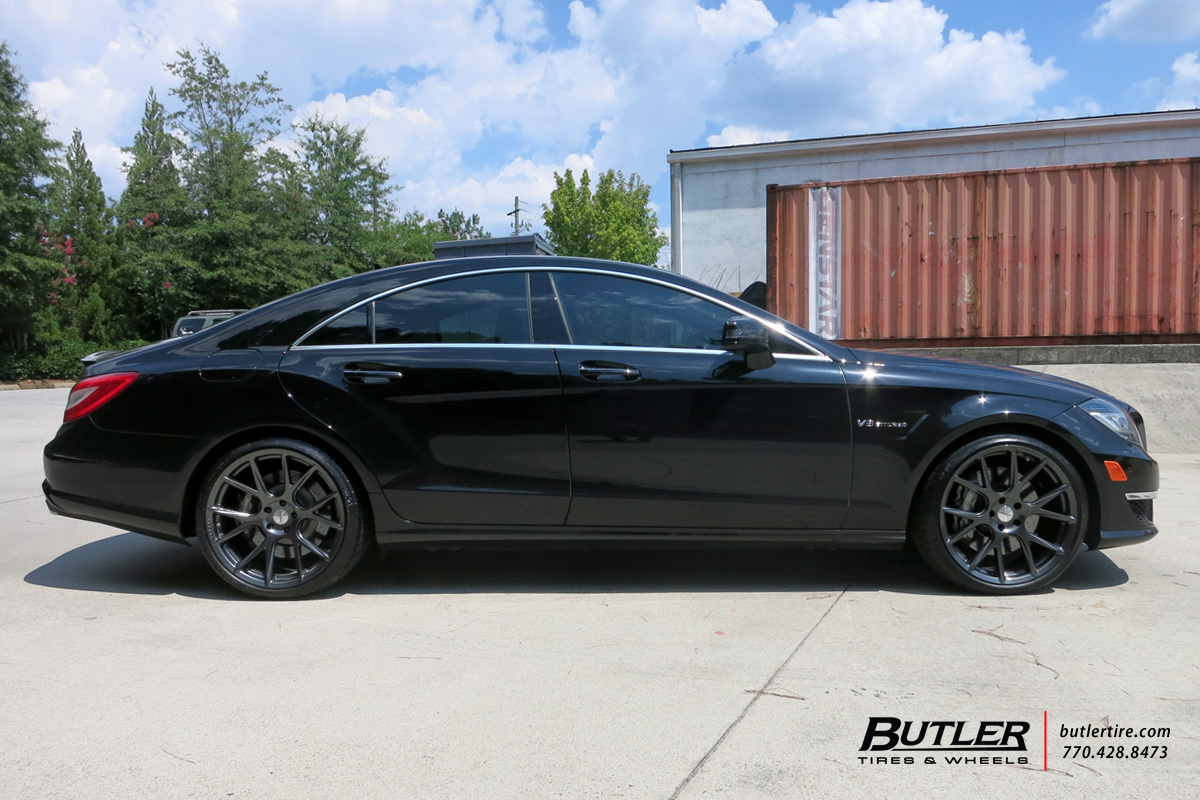 Mercedes CLS with 20in Vossen VFS6 Wheels exclusively from Butler