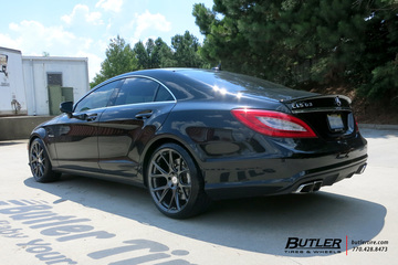 Mercedes CLS with 20in Vossen VFS6 Wheels
