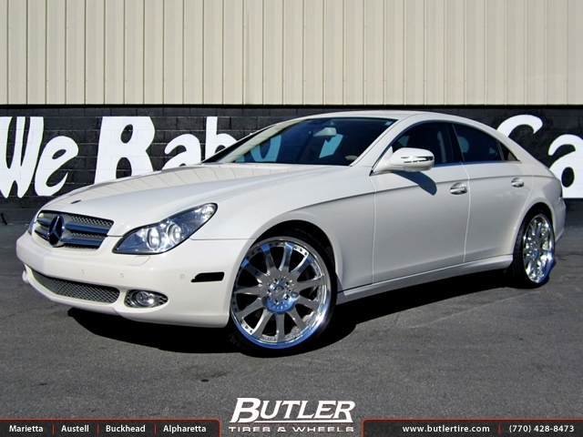 Mercedes CLS with 21in Carlsson 2 11 Wheels