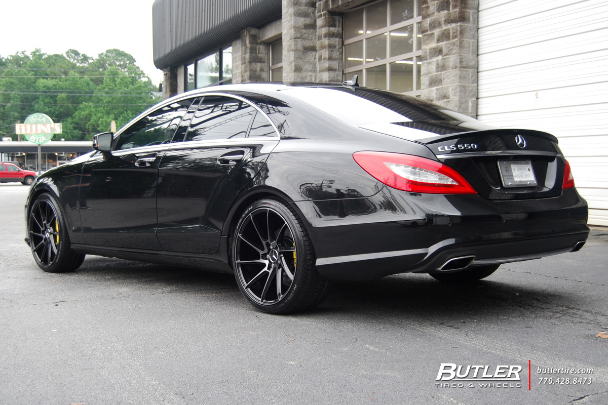 Mercedes Cls With 22in Savini Bm15 Wheels Exclusively From