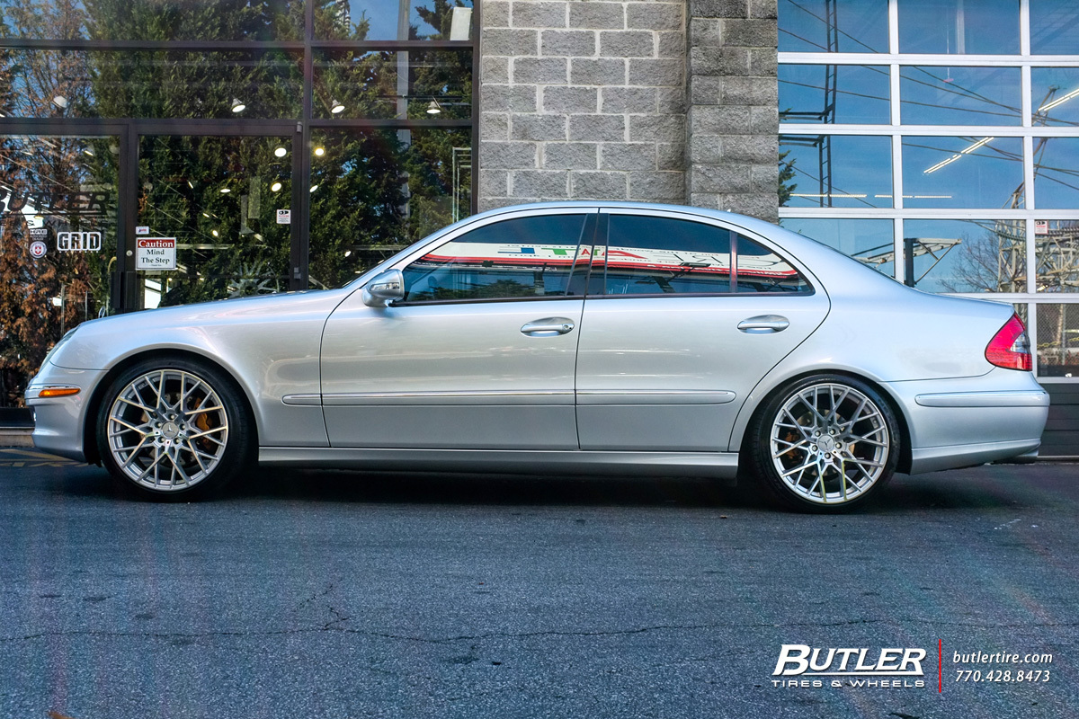 Mercedes E-Class with 19in TSW Sebring Wheels