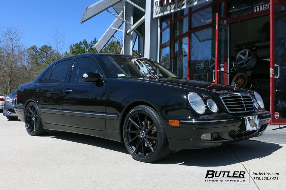 Mercedes e class with 19in tsw watkins wheels exclusively for Mercedes benz tire inflator