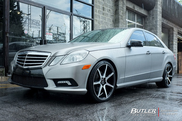 Mercedes E-Class with 20in Savini BM10 Wheels