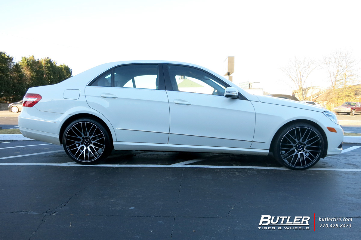 Mercedes E-Class with 20in Savini BM13 Wheels
