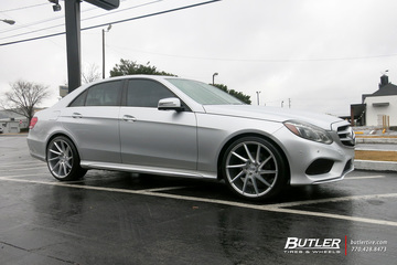 Mercedes E-Class with 20in Savini BM15 Wheels