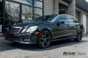 Mercedes E-Class with 20in TSW Ascent Wheels