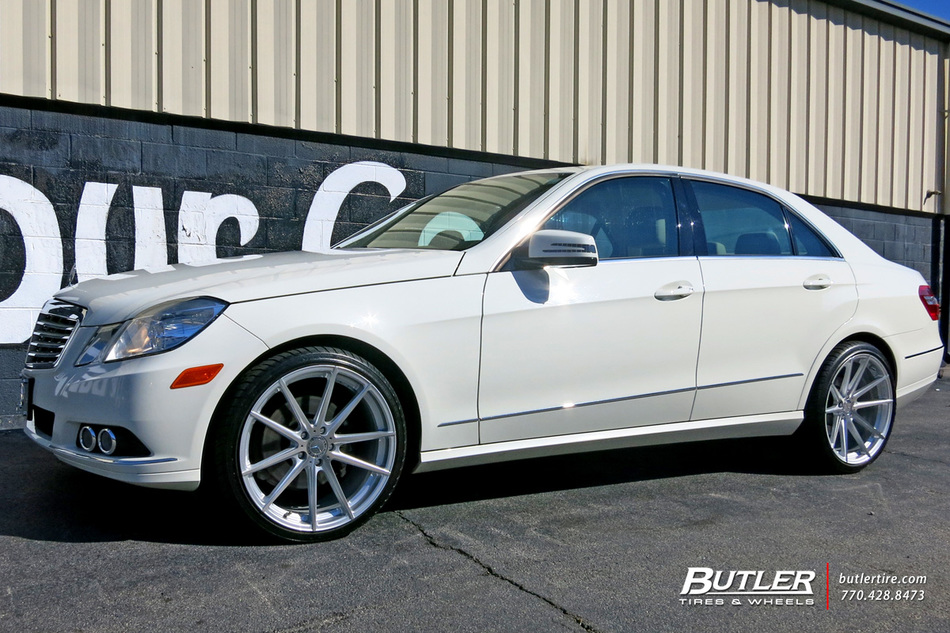 Mercedes E-Class with 20in TSW Bathurst Wheels exclusively ...