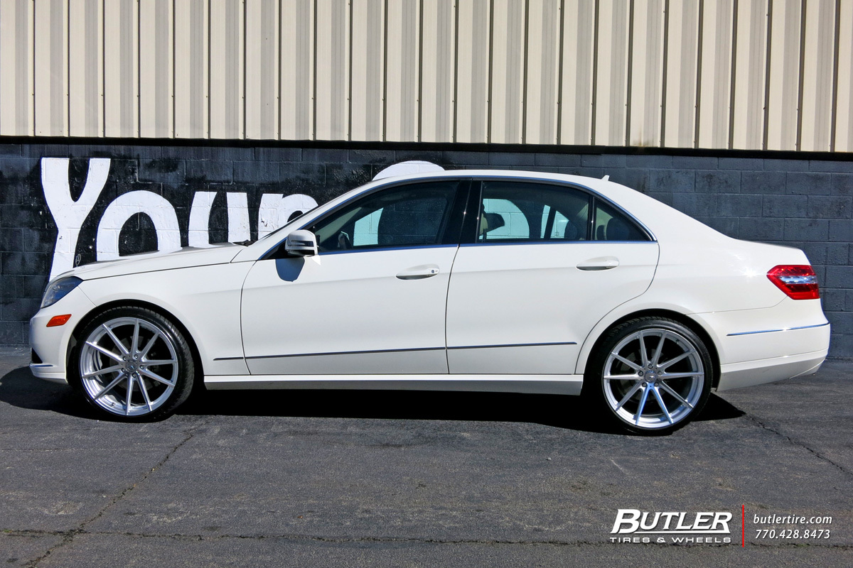 Mercedes E-Class with 20in TSW Bathurst Wheels