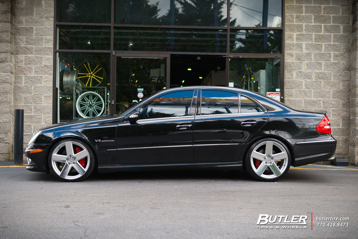 Mercedes E Class With 20in Tsw Bristol Wheels Exclusively