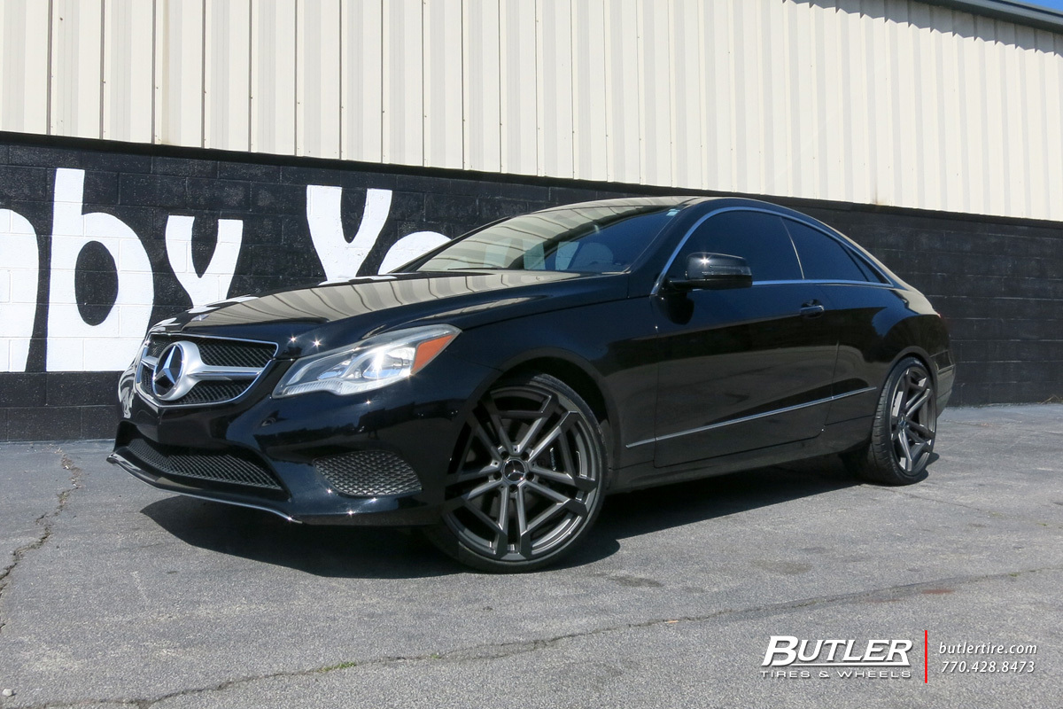 Mercedes E-Class with 20in TSW Circuit Wheels