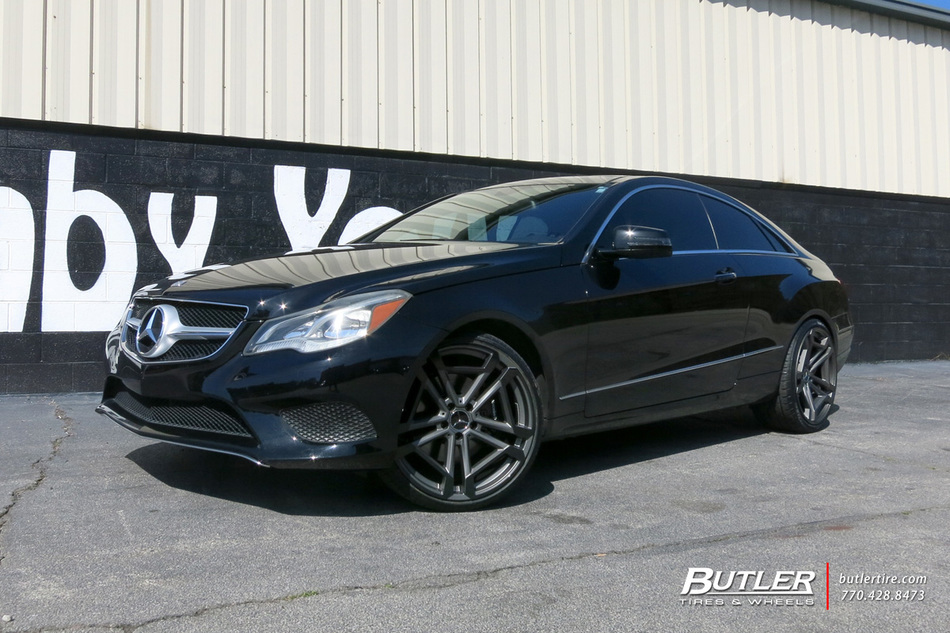 20 Gmc Wheels >> Mercedes E-Class with 20in TSW Circuit Wheels exclusively ...
