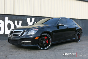 Mercedes E-Class with 20in TSW Mirabeau Wheels