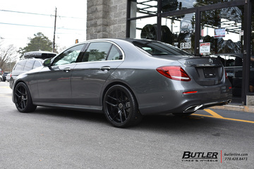 Mercedes E-Class with 20in TSW Tabac Wheels