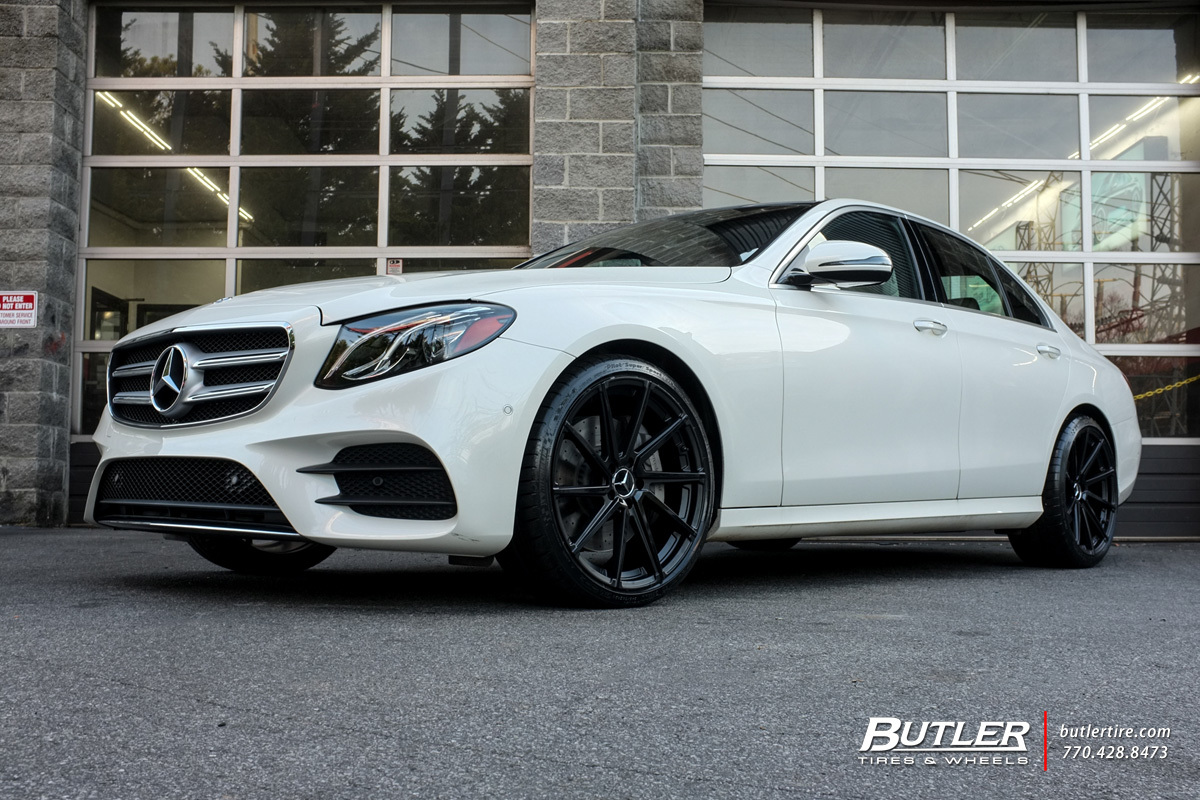 Mercedes E-Class with 20in TSW Watkins Wheels