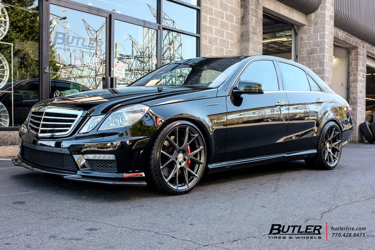 Mercedes E Class With 20in Vossen Vfs6 Wheels Exclusively From