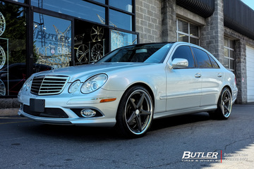 Mercedes E-Class with 20in Vossen VWS3 Wheels