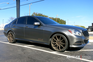 Mercedes E-Class with 22in Savini BM12 Wheels