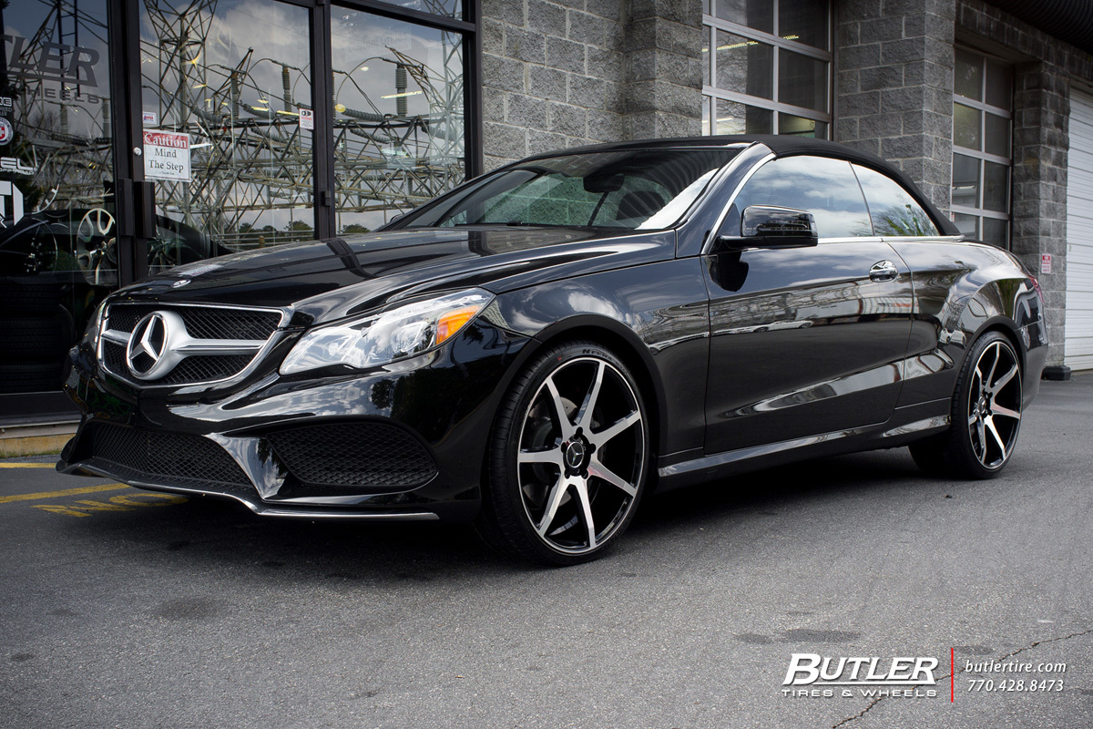 Mercedes E-Class Coupe with 20in Savini BM10 Wheels