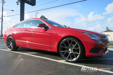 Mercedes E-Class Coupe with 20in Vossen VFS6 Wheels
