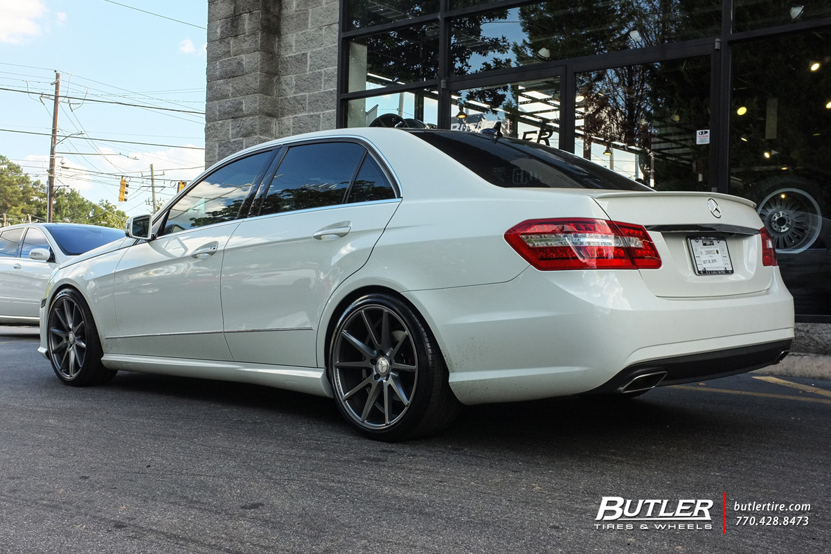 Mercedes Benz Of Buckhead >> Mercedes E-Class with 19in Vossen VFS1 Wheels exclusively ...