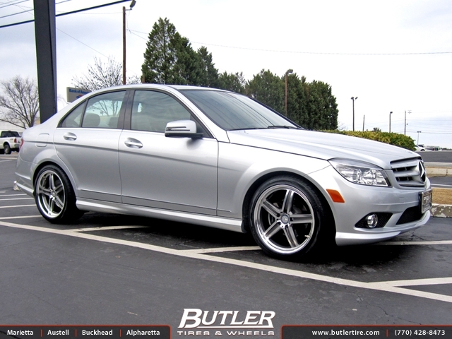 mercedes e class with 18in mandrus mannheim wheels exclusively from butler tires and wheels in. Black Bedroom Furniture Sets. Home Design Ideas