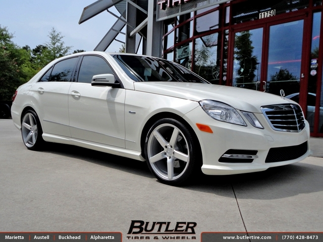 Mercedes Benz Of Buckhead >> Mercedes E-Class with 19in Niche Milan Wheels exclusively from Butler Tires and Wheels in ...