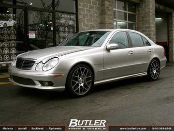 Mercedes E-Class with 19in TSW Nurburgring Wheels
