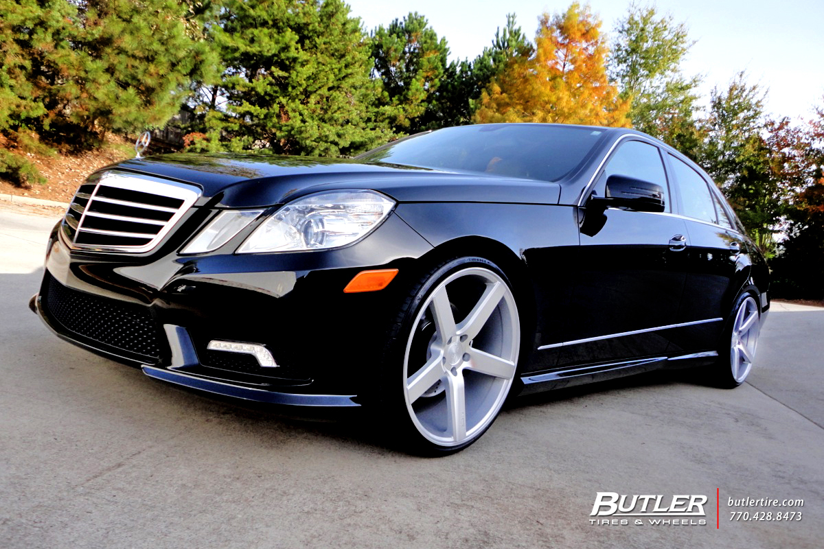 Mercedes E Class With 20in Niche Milan Wheels Exclusively