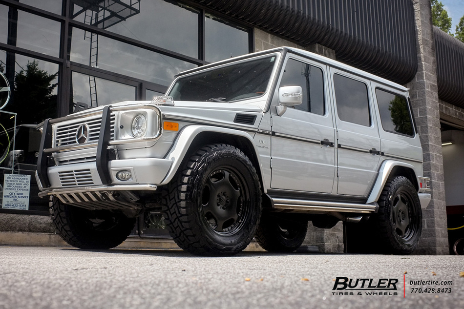 Mercedes G Class With In Carlson Wheels Large