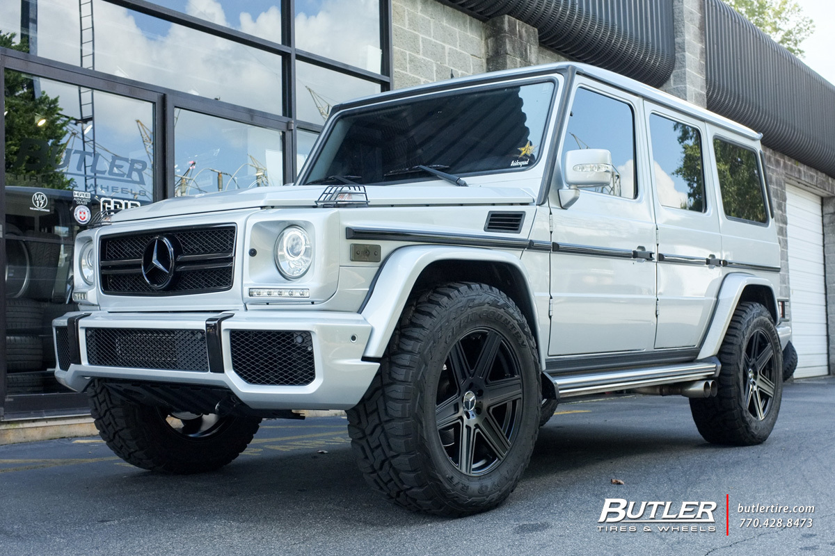 Rt 22 Toyota >> Mercedes G-Class with 20in Mandrus Atlas Wheels exclusively from Butler Tires and Wheels in ...
