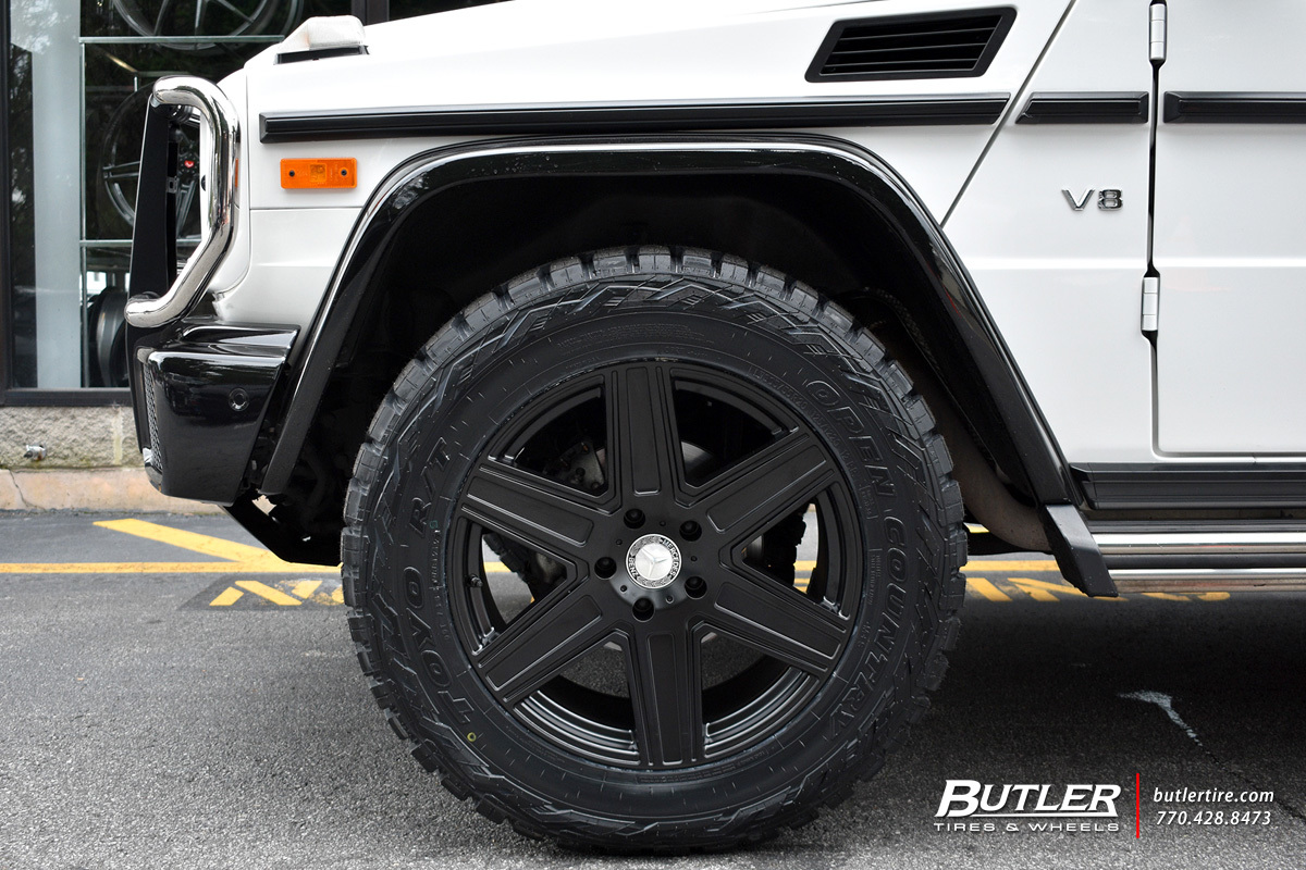 Mercedes G-Class with 20in Mandrus Atlas Wheels