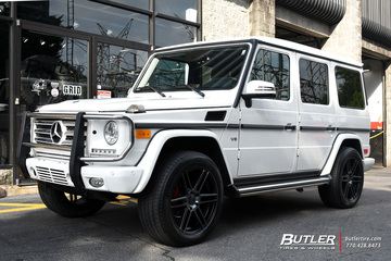Mercedes G-Class with 20in TSW Autograph Wheels
