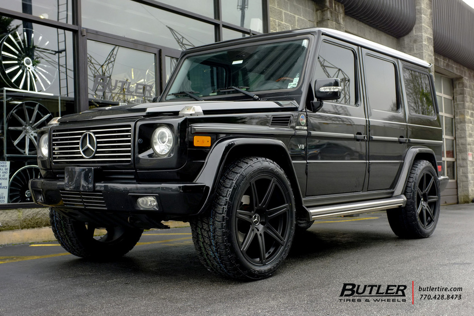 Mercedes G-Class with 22in Savini GJ97M Wheels exclusively from Butler Tires and Wheels in ...